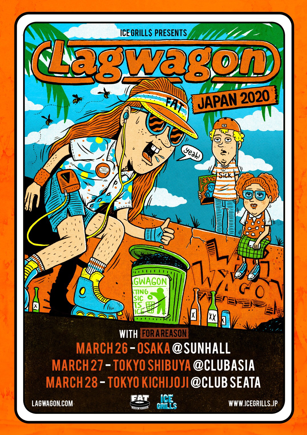 Lagwagon Japan Tour 2020